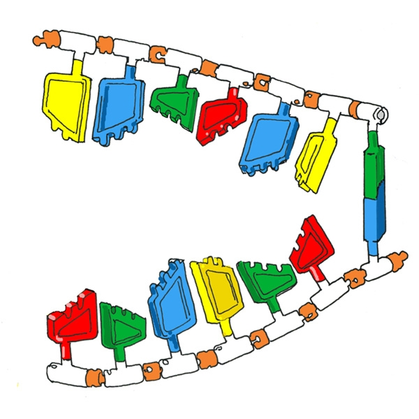 Dna model teach dna project ccuart Images